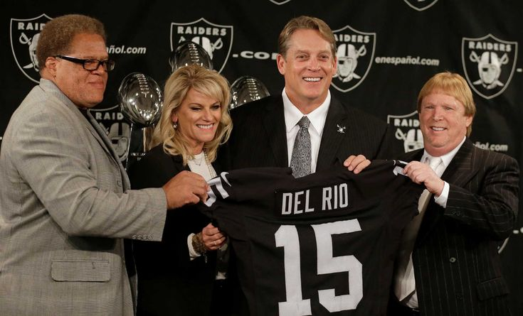 Knowing the history makes Raiders a dream job for Del Rio  Like the right hire at the right time for a team that has pockets of promise but that needs stability and credibility and to restore its confidence.  Del Rio's roots are in Hayward, his parents are Raiders season-ticket holders, and his childhood included watching John Madden's tie snap in the breeze at the Oakland Coliseum and Mark van Eeghen running behind Art Shell and Gene Upshaw.  Unlike the many men who have been tapped to lead…
