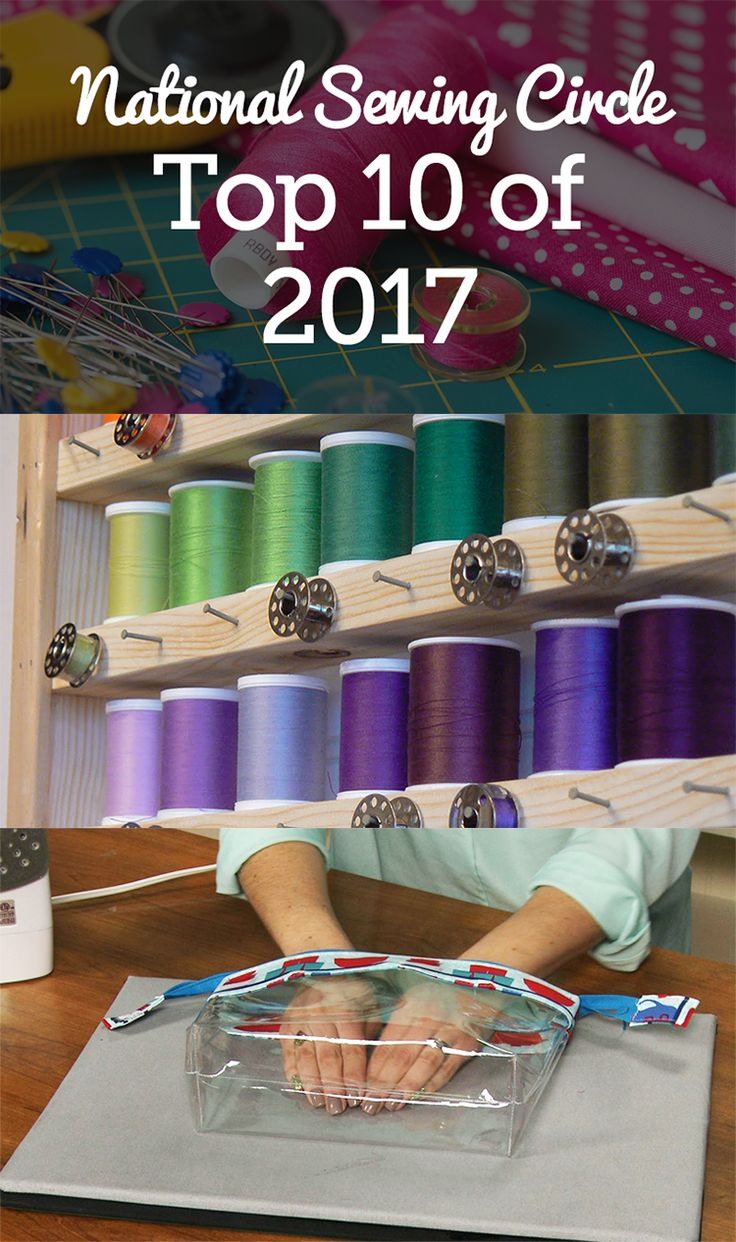 With 2018 just around the corner, we've taken a look back our top tips, selected by YOU, from 2017. Read below to see the most popular articles and videos this year at National Sewing Circle!