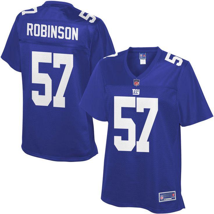 Keenan Robinson New York Giants NFL Pro Line Women's Player Jersey - Royal