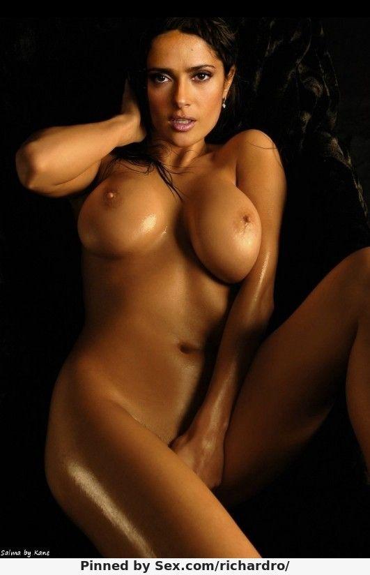 selma hayek naked
