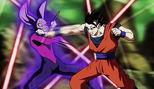 My Gif Dragon Ball Super Son Gohan Dyspo Anime