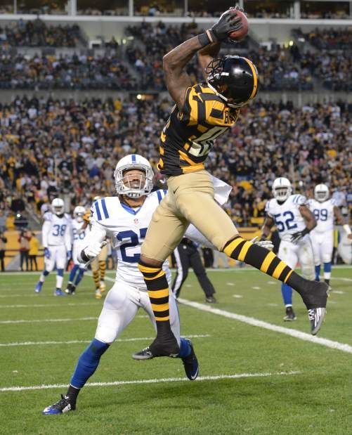 The Indianapolis Colts figured the best way to handcuff the Steelers offense Sunday was to limit receiver Antonio Brown's touches. They were wrong. The Steelers' ...