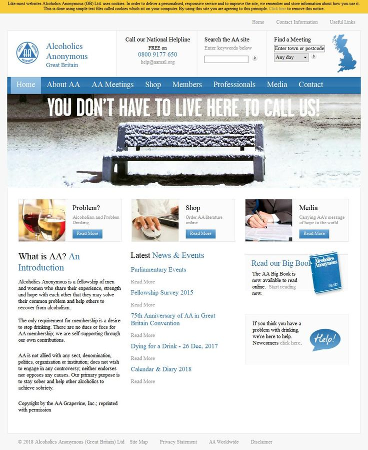 Alcoholics Anonymous Alcohol Misuse - Advice & Counselling Eldon House Charter Row  Sheffield South Yorkshire S1 3EF | To get more infomration about Alcoholics Anonymous, Location Map, Phone numbers, Email, Website please visit http://www.HaiUK.co.uk