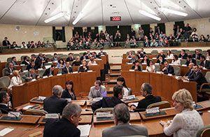 Al via la X legislatura del Consiglio regionale del Piemonte. Eletto Mauro Laus presidente