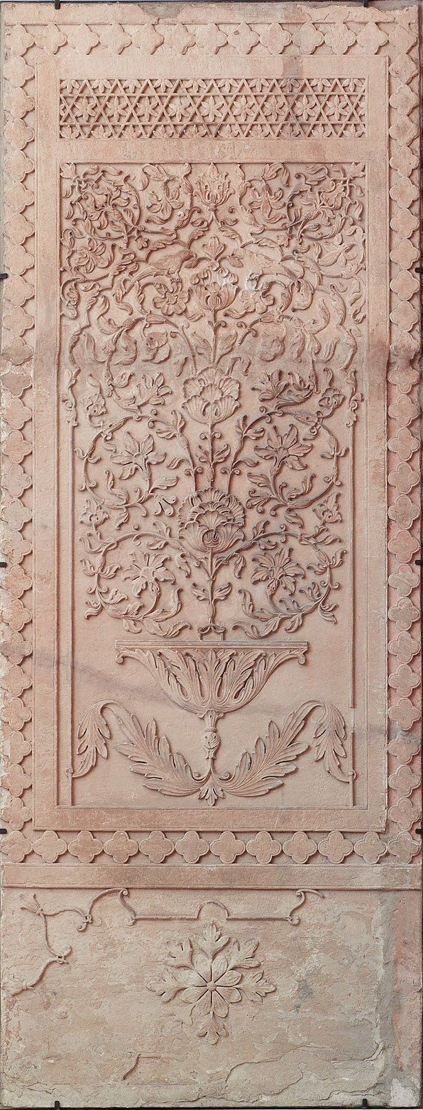 Panel with tree of life - North India