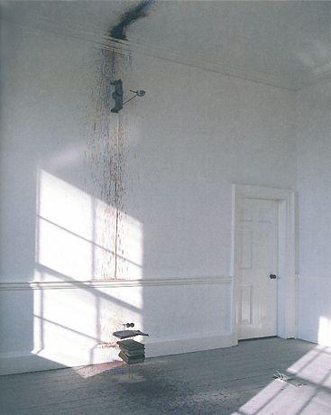 Rebecca Horn | Salomè, 1988 [foto dell'installazione al Royal Hospital Kilmainham, Dublin, 1988]