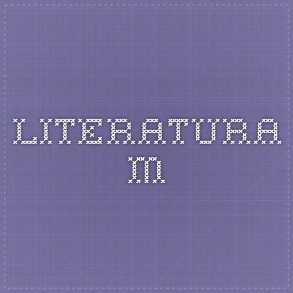 Literatura M