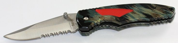 POCKET KNIFE FURY Presto Pocket Knife FOLDING KNIFE Sharp Blade 200mm open NEW AU$19.99