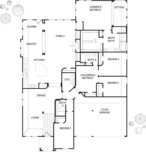 Bellano By David Weekley Homes House Plans Pinterest