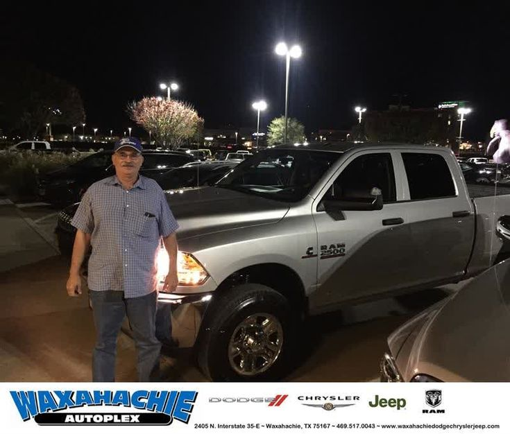 Happy Anniversary to Hugh on your #Ram #2500 from Michael Gould at Waxahachie Dodge Chrysler Jeep!  https://deliverymaxx.com/DealerReviews.aspx?DealerCode=F068  #Anniversary #WaxahachieDodgeChryslerJeep