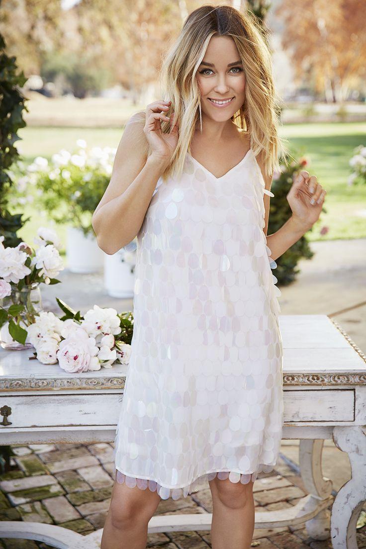 Lauren conrad white lace marchesa dress