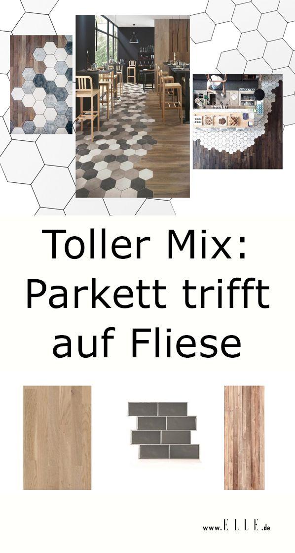 Parkett Plus Fliesen Der Interior Trend Deko Trends 2019 Pinterest
