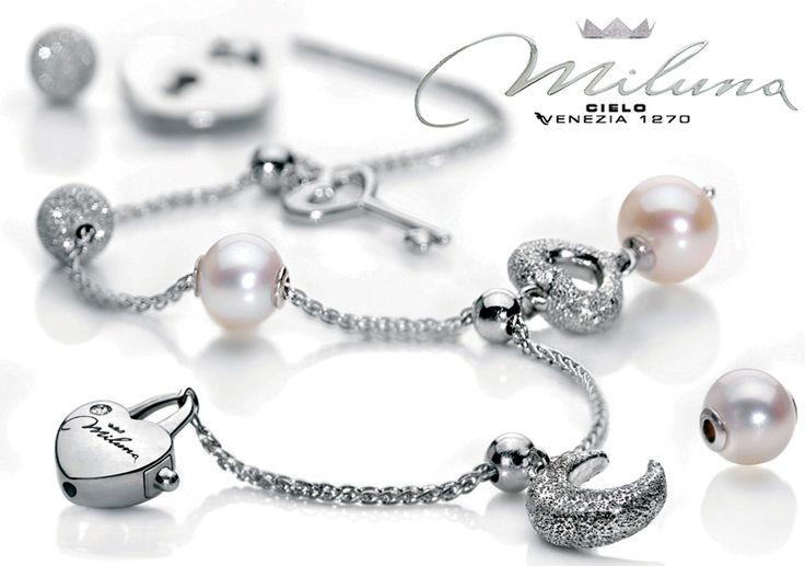 I gioielli Miluna sono creati per raccontare il sogno d'Amore di ogni donna.