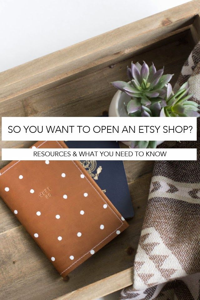 Always Rooney: Tips On Starting Your Own Etsy Shop