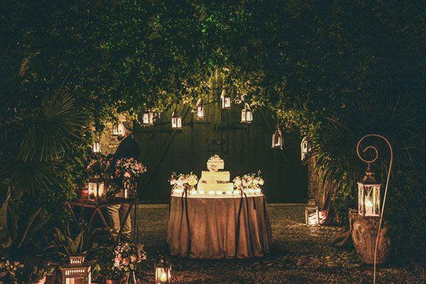 Un matrimonio shabby chic al Convento dell'Annunciata