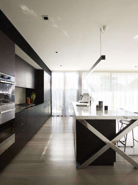chrome X island  Greg Natale | Sydney based architects and interior designers