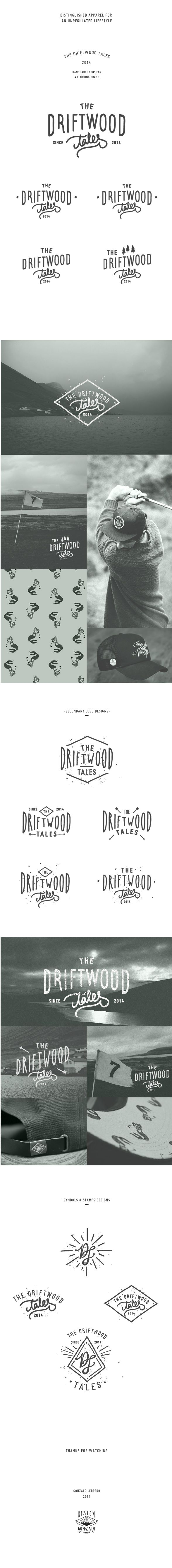 The Driftwood Tales by Gonzalo Lebrero, via Behance