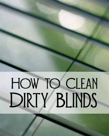 Your window blinds should be dusted or vacuumed weekly.  You can even use a clean and dry paint brush to brush the dust off.  After a while, your blinds might start to build up dirt.  Here are the steps for cleaning dirty blinds. V...