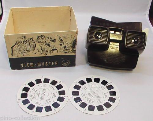 VISORE-STEREOSCOPICO-BACHELITE-VIEW-MASTER-STEREOSCOPIO-Vintage-Stereo-Viewer