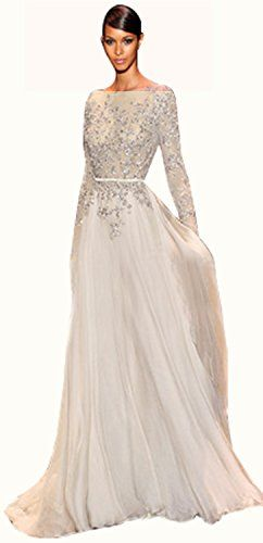 IBEAUTY DRESS Chiffon Lace Long Sleeve Trailing Prom Dress Gray US 10 WANTDO INTERNATIONAL DRESS http://www.amazon.com/dp/B00JKCC4K8/ref=cm_sw_r_pi_dp_ywhqub1YAGPGD