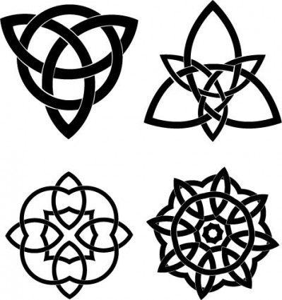 Printable Henna Stencils   Pattern Vector Free Download on Celtic Knots Vector Set Vector Misc ...