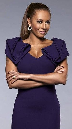 Who knew I would love me some Mel B???!!!