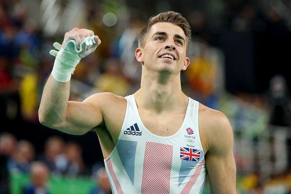 Men's Floor Olympic Champion, Max Whitlock