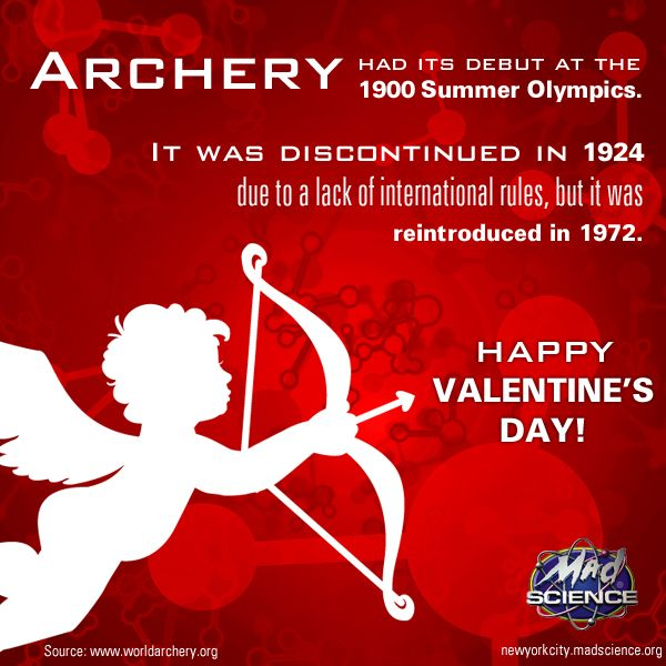 archery valentine the olympics fun facts pinterest mad science and archery