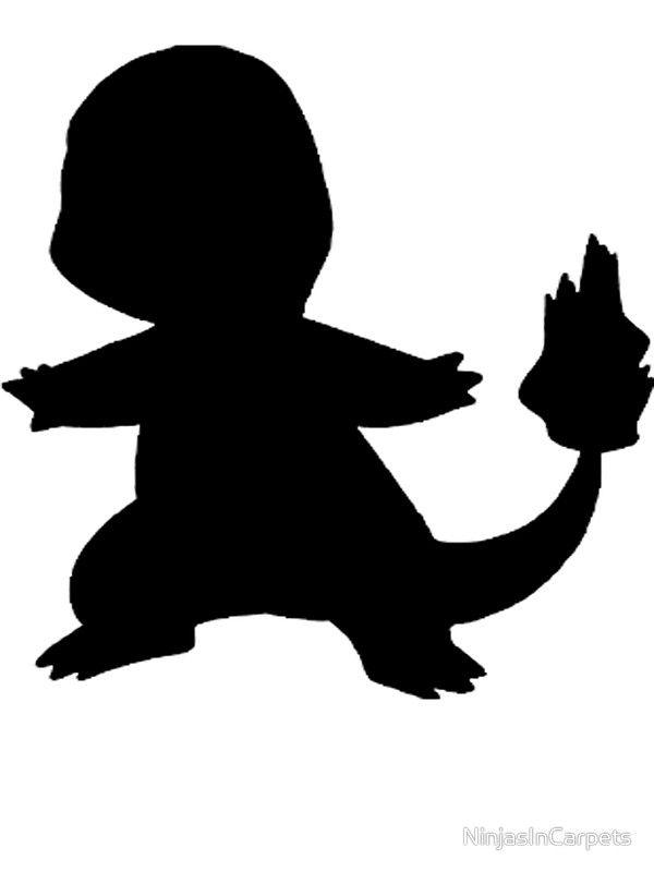 Charmander silhouette - Google Search