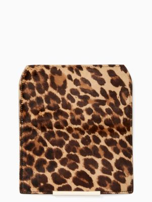 make it mine leopard-print haircalf flap | Kate Spade New York