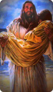 Jesus, our Savior, carries us all the way Home