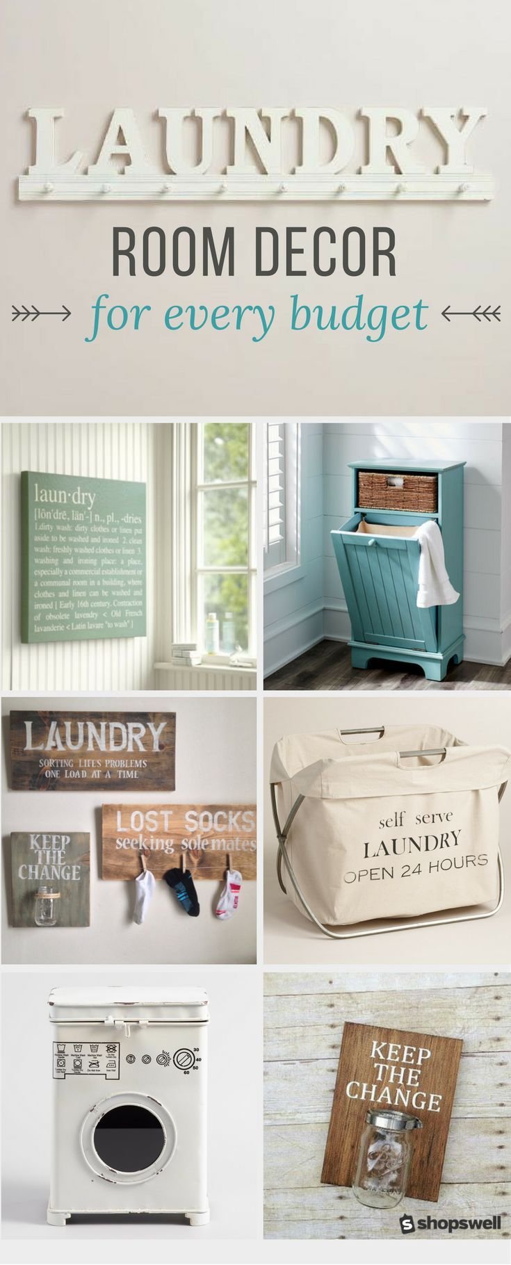 laundry room decor ideas for every budget