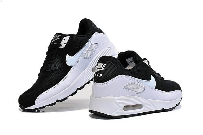 Nike air max 90 womens shoes panda oreos Black White 01 1
