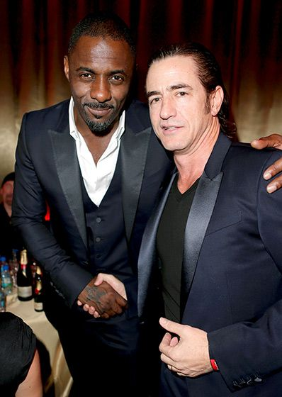 Idris Elba with Dermot Mulroney