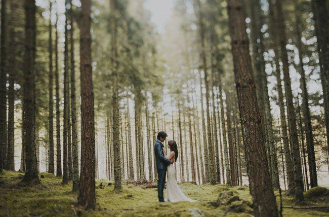 Romantic Swedish Destination Wedding: Ellie + Aaron | Green Wedding Shoes Wedding Blog | Wedding Trends for Stylish + Creative Brides