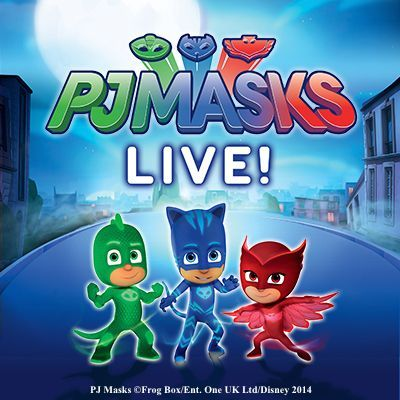 Win a family pass to PJ MASKS LIVE!