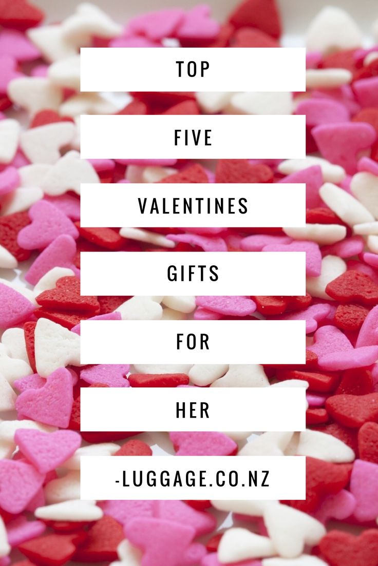 Top 5 Valentines Gifts for Her | Free Shipping & Easy Returns NZ Wide | luggage.co.nz