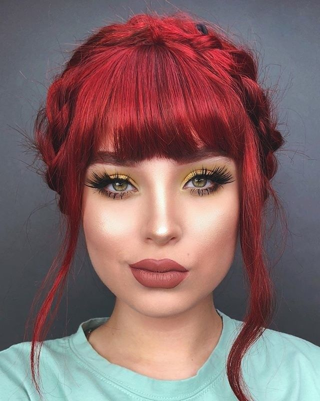 """314 Likes, 2 Comments - Vegan + Cruelty-Free Color (@arcticfoxhaircolor) on Instagram: """"@lupescuevas is looking super glam in those lashes! She used Poison and Sunset orange to get this…"""""""