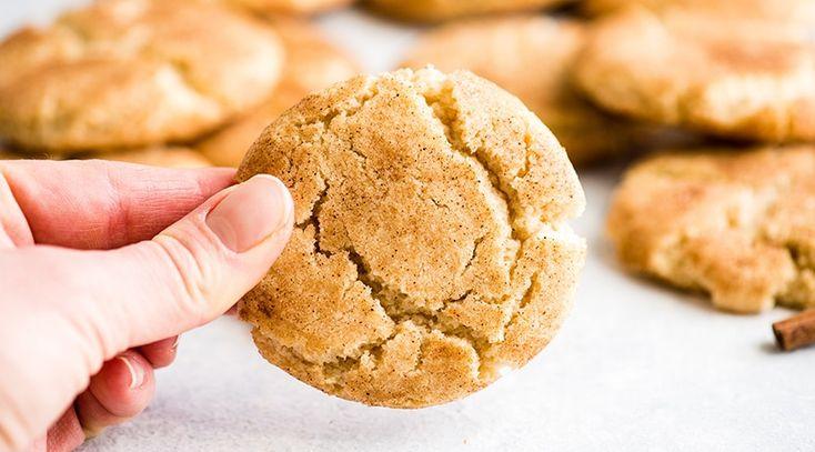 Das beste Snickerdoodle-Rezept aller Zeiten! Diese Snickerdoodle-Kekse haben einen knusprigen Rand …