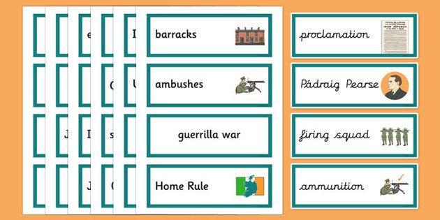1916 Rising Vocabulary Flashcards
