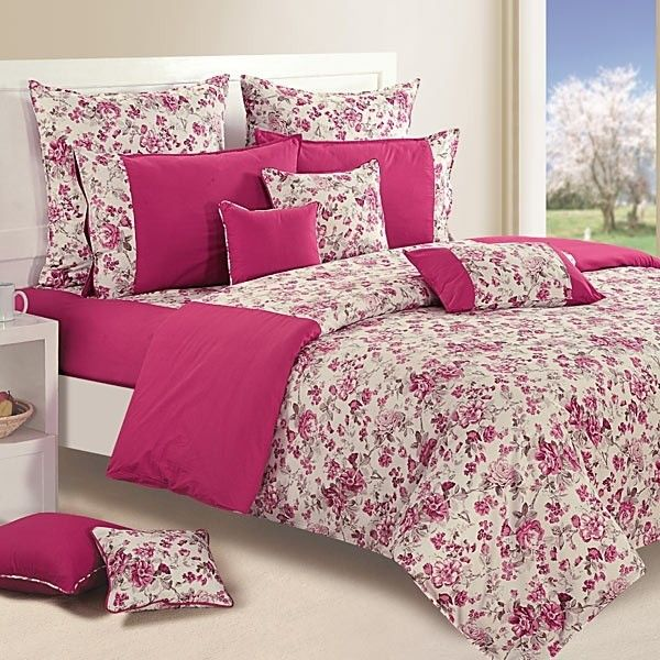 Wine Floral Duvet Covers, Comforters & Quilts- Shades of Paradise-2712