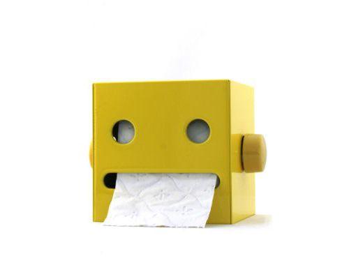 Robot toilet paper holder..!!