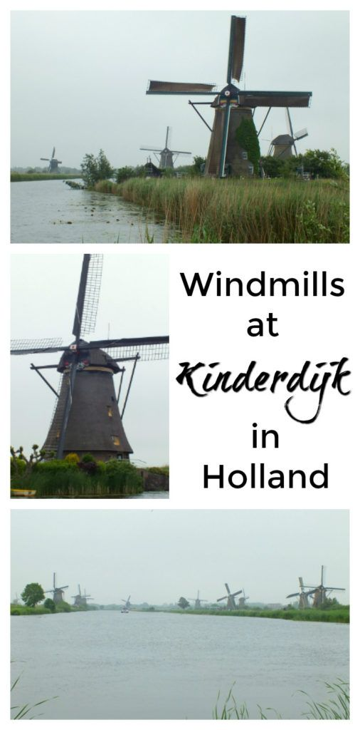 Windmills at Kinderdijk, a UNESCO world heritage site near Rotterdam in south Holland (the Netherlands)
