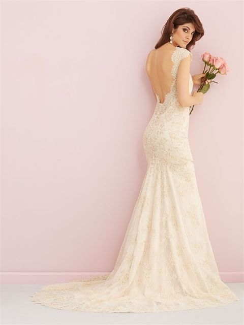 Nice Awesome Allure Romance 2758 Wedding Gown Size 12 2017 2018 Check more at http://24store.ml/fashion/awesome-allure-romance-2758-wedding-gown-size-12-2017-2018-3/