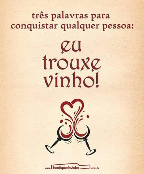Um cálice de vinho é fundamental para descontrair nosso espírito... nossa alma... e por consequência nosso corpo.!...
