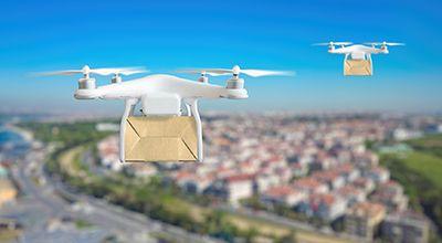 Reparto a domicilio por medio de drones