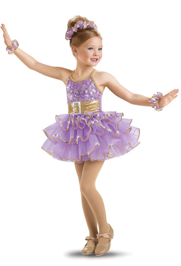 Girls' Sequin Floral Jazz Dress; Weissman Costumes   Pose