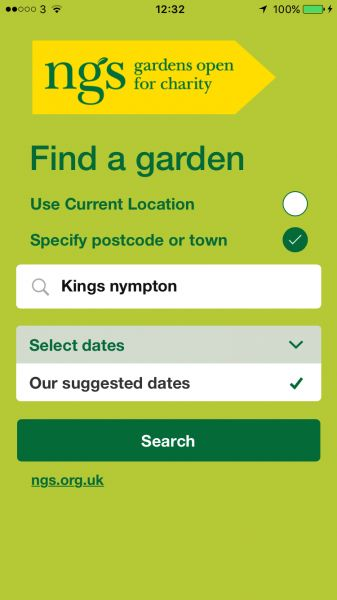 Review: NGS Find a Garden iOS and Android App