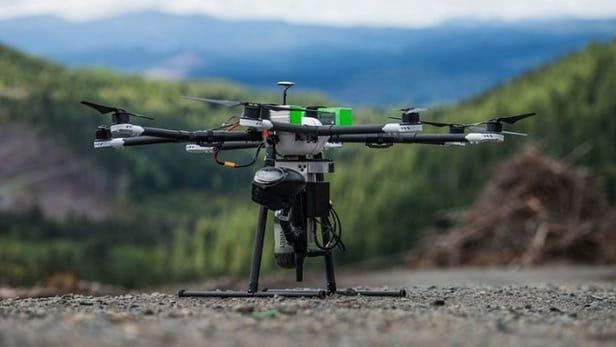 #TreePlanting #drones to speed up reforestation efforts .....  http://newatlas.com/tree-planting-drones-droneseed/45259/ …