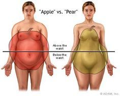 Apple vs Pear Body Shapes